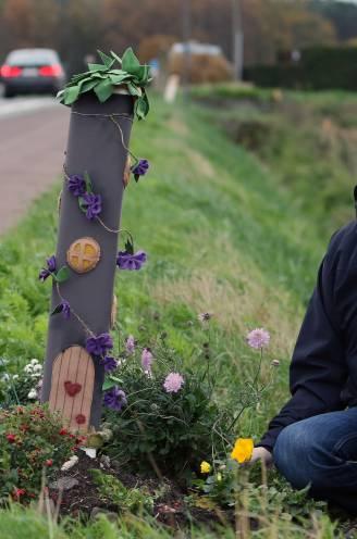 """'Elfenhuisje' voor verongelukte Frauliene (2) en oma Carine even verdwenen: """"Alsjeblieft, laat gedenkplaatsen van verkeersslachtoffers toch met rust"""""""