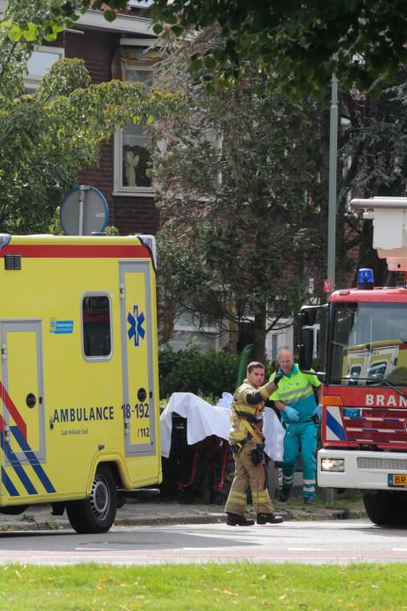 Man zwaargewond door val van trap bij woning aan Viottakade in Dordrecht