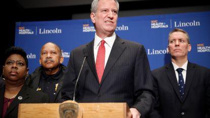 Burgemeester New York steunt kandidatuur Democraat Sanders
