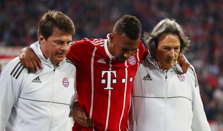 Jérôme Boateng liep een zware spierblessure aan de adductoren op.