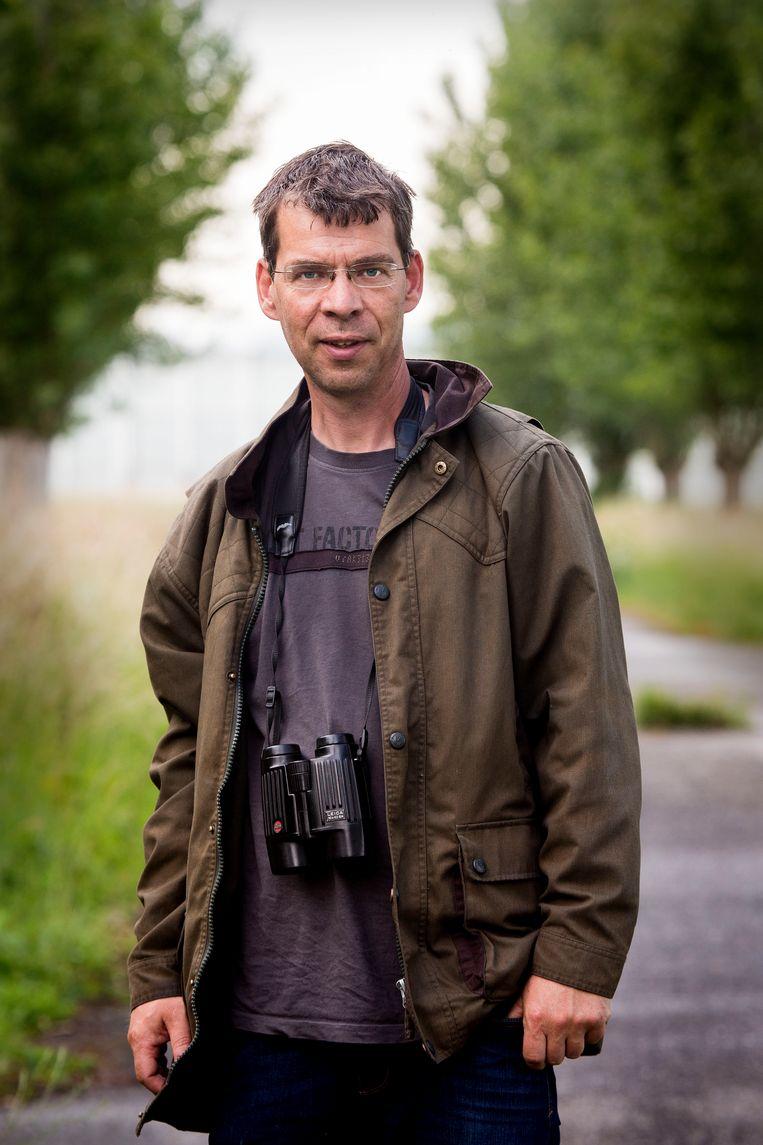 Ecoloog Alex Wieland. Beeld Arie Kievit