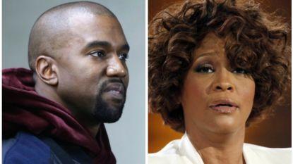 Neef Whitney Houston walgt van Kanye West