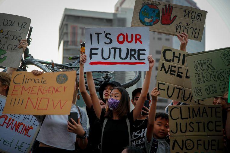 Veel mensen geloven ook dat de wereldwijde protestacties van de klimaatjongeren ook echt iets bereiken.