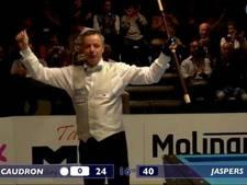 Dick Jaspers wint achttiende Masterstitel driebanden