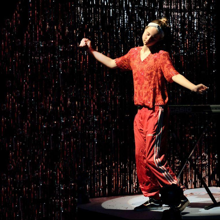 The Well, theatervoorstelling met jongeren uit de psychiatrie. Beeld Jean van Lingen