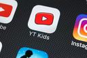 Het app-icoontje van YouTube Kids
