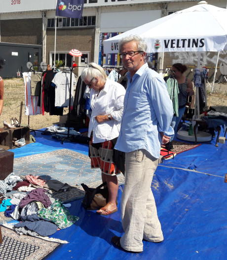 Bij ruilbeurs State of Fashion zit het prijskaartje vaak nog aan de kleding