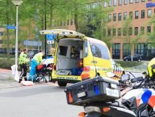 Fietser en auto in botsing op fietspad Amersfoort