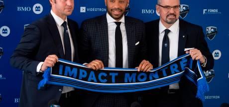 """Thierry Henry à Montréal: """"Des coaches belges convoitaient le poste"""""""