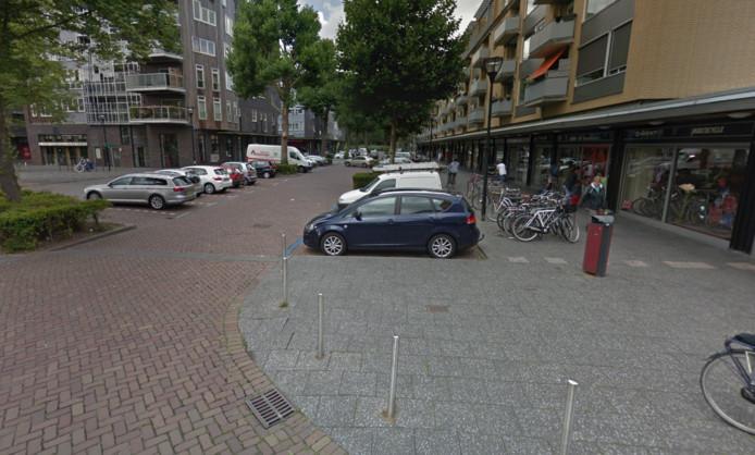 Het Admiraalsplein in Dordrecht.