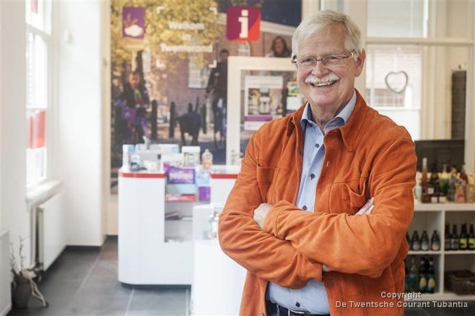 Hans van Ronkel uit Den Ham blijft voorzitter van Twenterand Tourist Info.
