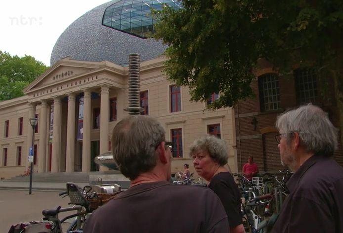De Van Rossems tijdens hun eerdere bezoek in Zwolle.
