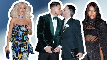Alle celebritygasten die aanwezig waren op de trouw van ontwerper Marc Jacobs