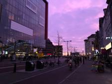 Nederland betoverd door bijzonder avondrood