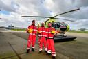 De ploeg van Rotterdam Airport staat vandaag stil bij de 100.000ste vlucht van de traumahelikopter in 25 jaar.