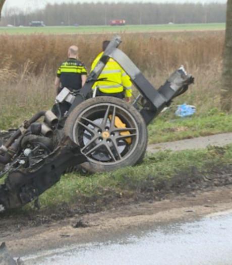 Almeerder zwaargewond na crash met Ferrari in Zeewolde