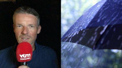 Nog meer regen op komst, vanaf vrijdag verbetert het weer