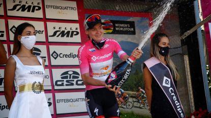 KOERS KORT. Van der Breggen eindwinnares Giro Rosa - Steimle wint Ronde van Slovakije
