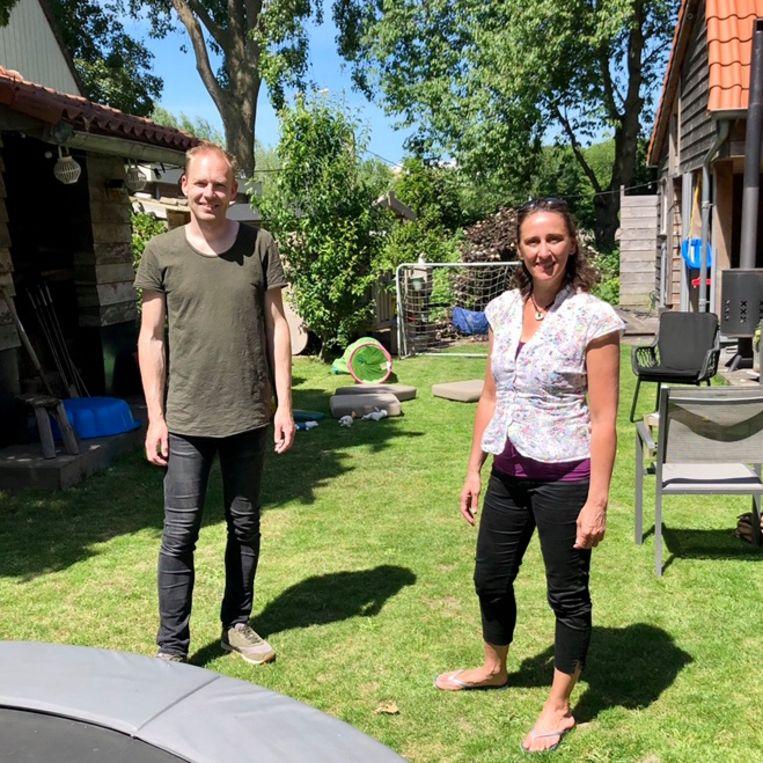 Martijn Neuvel (l) en Annabel Masullo. Beeld
