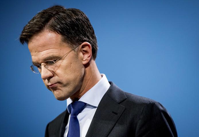 Premier Rutte.