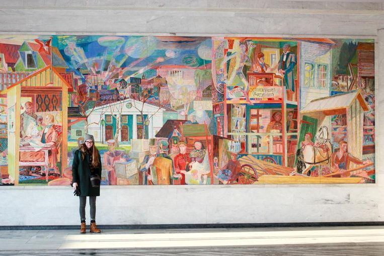 Populair Studente brengt kunst naar de klas | Grimbergen | In de buurt | HLN &OO05