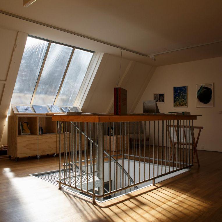 De zolderverdieping van Foam Beeld Carly Wollaert