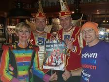 Collecte voor het goede doel tijdens carnaval in Groenlo