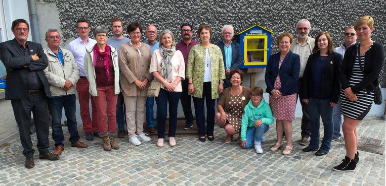 """""""Als het project succesvol is, kunnen we de boekenruilkastjes uitbreiden naar de deelgemeenten Tielrode, Steendorp, Elversele en de wijk Velle"""", stelt cultuurschepen Lieve Truyman."""