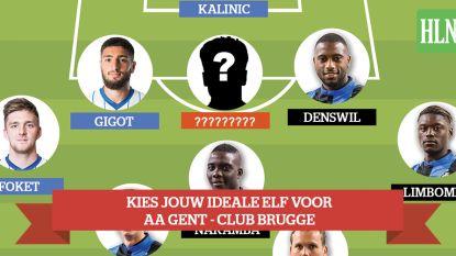 Onze ideale elf voor de clash van Vlaanderen - en ook jij kan stemmen