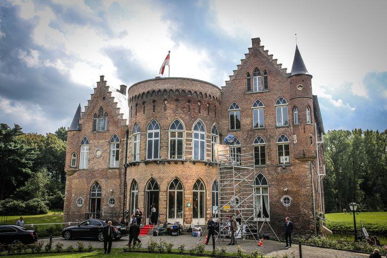 Het kasteel van Wissekerke in Kruibeke, waar een deel van de film werd opgenomen.