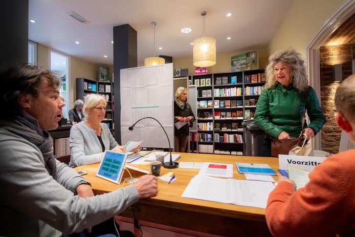 Nijmegen/Nederland: Stemlokaal in Boekhandel Augustinus.Dgfotofoto: Bert Beelen