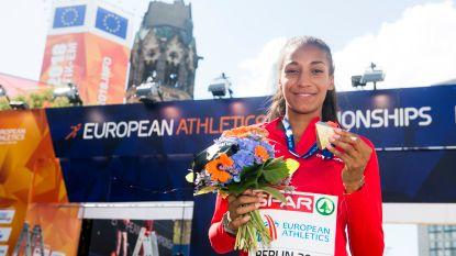 "Nafi Thiam blikt daags na Europese titel terug: ""Een feestje? Laat bij de dopingcontrole, ja"""