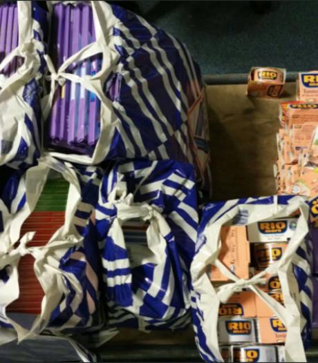 Politie doet oproep: wie is zijn chocoladerepen kwijt?