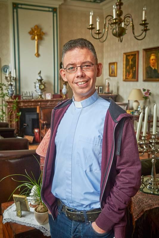 Pastoor David van Dijk: ,,Ik kon plots niet meer vooruit kijken.''