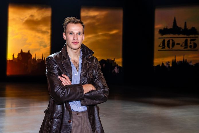 Michiel De Meyer speelt mee in de musical '40-45'.