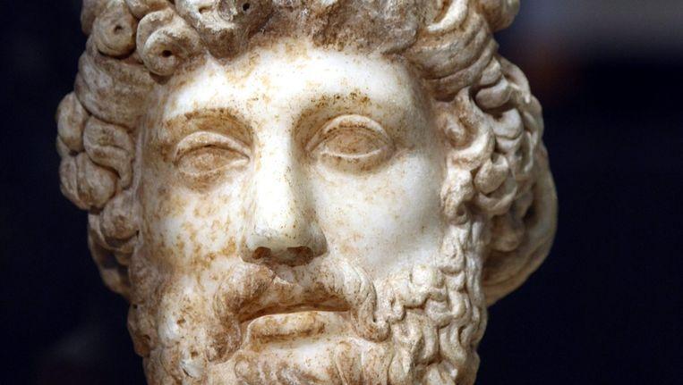 Beeld van de Griekse god Zeus. Beeld EPA