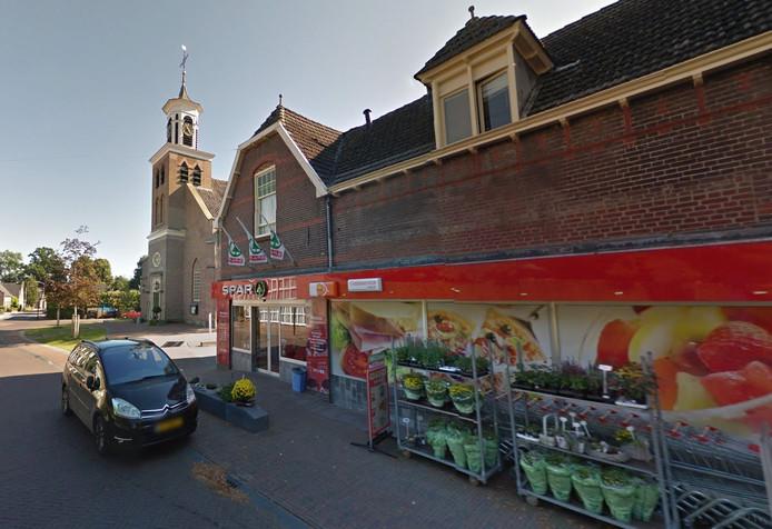 Supermarkt Spar aan de Dorpsstraat in Hummelo.