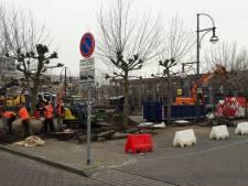 Herinrichting Van Bergenplein Etten-Leur in volle gang
