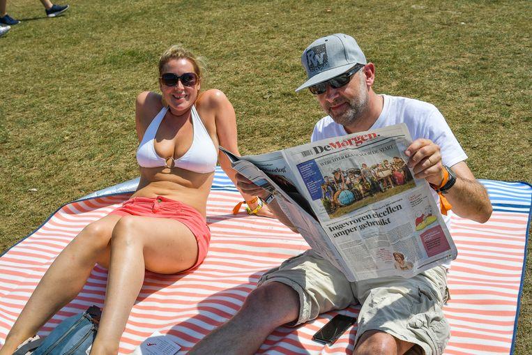 Het is internationale dag van de bikini, ook op Rock Werchter.