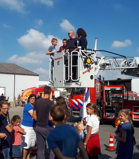 Drukte tijdens open dag van de brandweer in Borssele