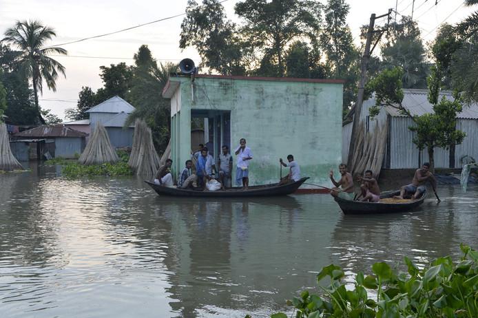 Zeker 700 mensen zijn al overleden door de overstroming.