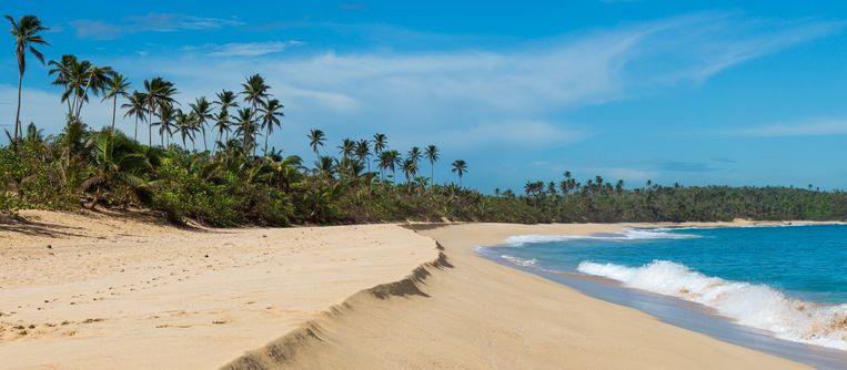 Strand in Puerto Rico.