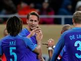 Luuk de Jong heeft nu maar 38 wedstrijdminuten nodig voor een nieuwe goal, nu bij Oranje
