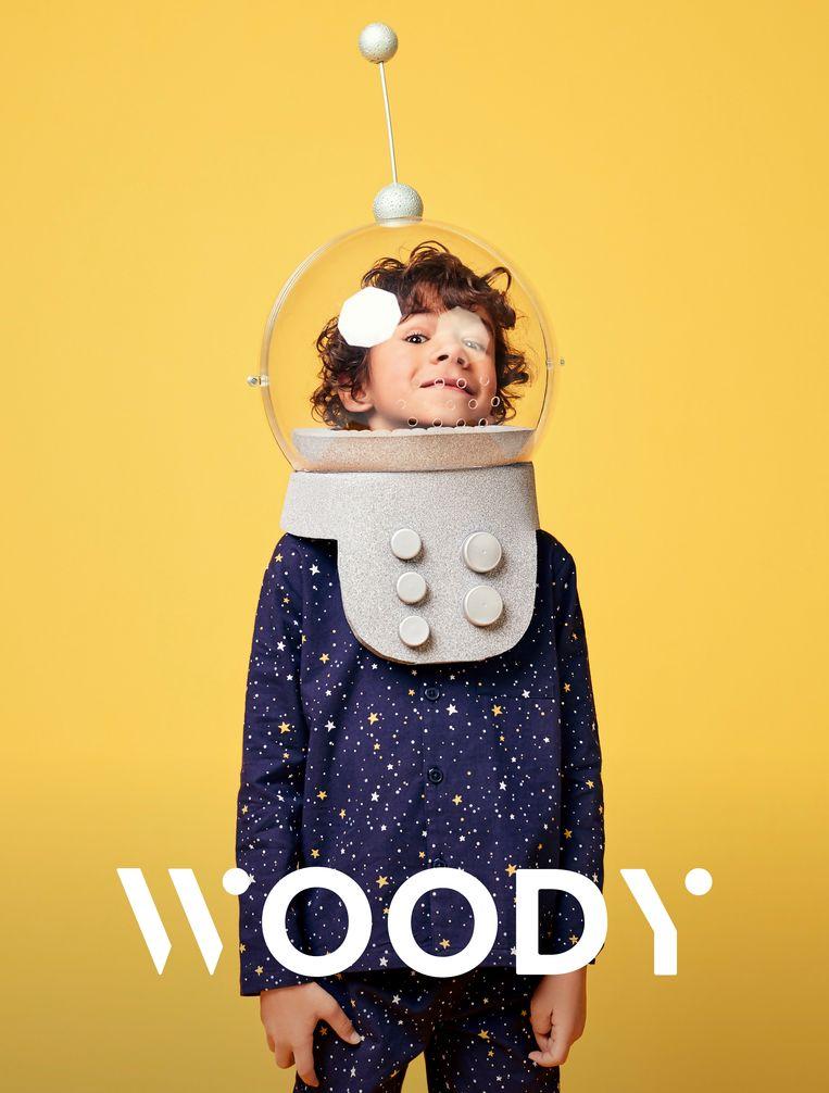 Het nieuwe logo van Woody.