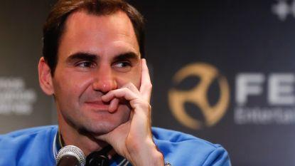 """Roger Federer (38) als een held ontvangen op bijzonder toernooi: """"Zolang ik plezier heb, stop ik niet"""""""