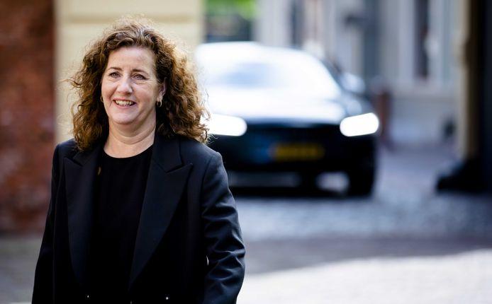 2019-04-26 11:01:36 DEN HAAG - Minister Ingrid van Engelshoven van Onderwijs, Cultuur en Wetenschappen (D66). ANP BART MAAT