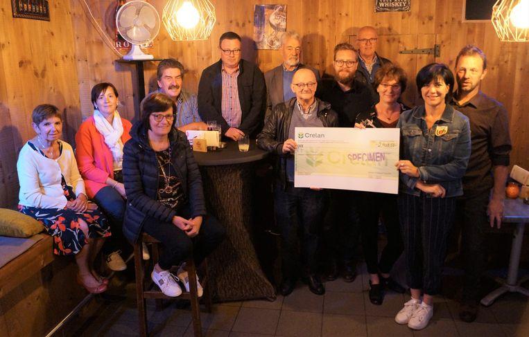 De smultoer van De Burgersgilde bracht 2.408,58 euro op voor Het Ventiel.