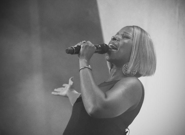 Mary J. Blige. Beeld REX Shutterstock