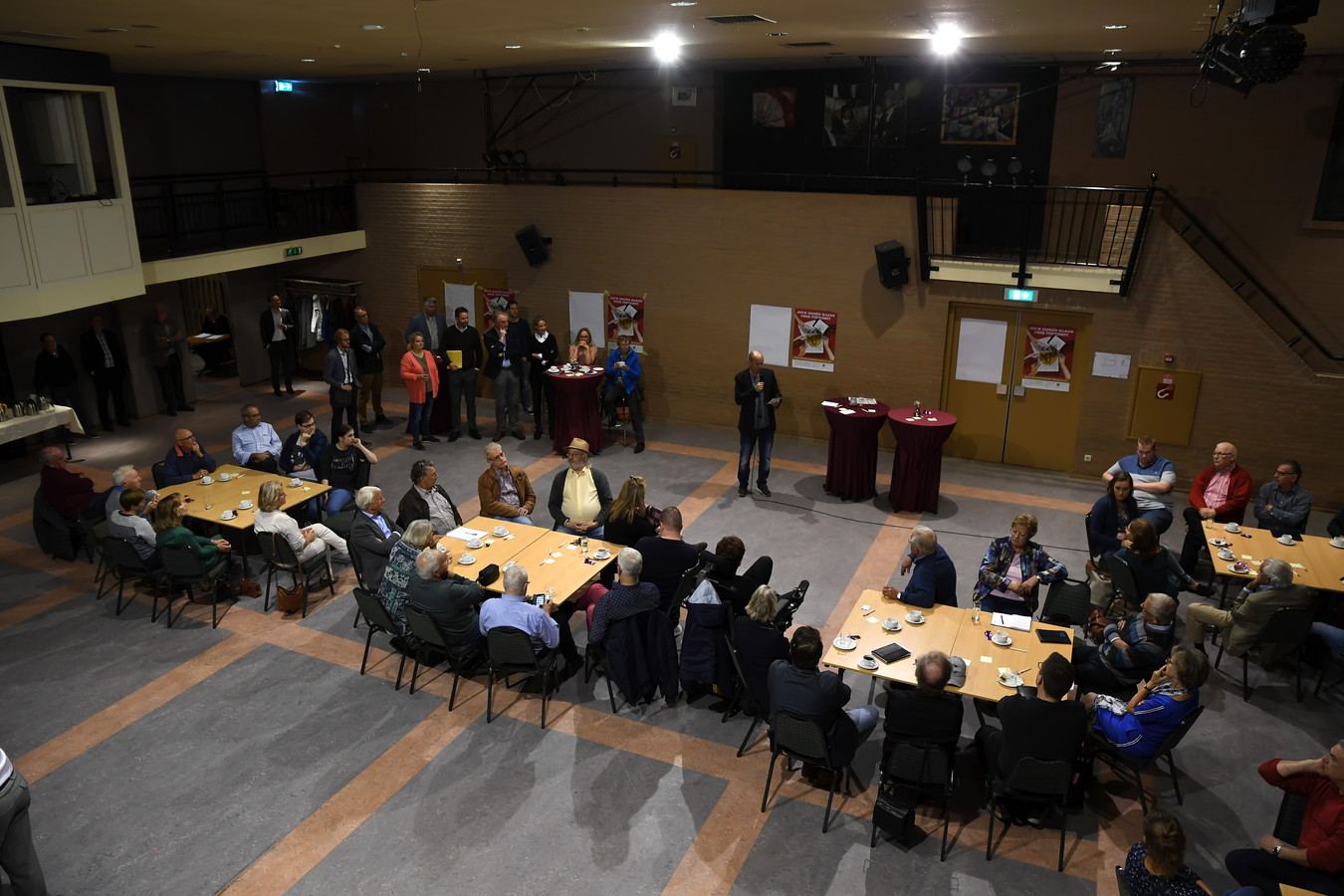 De startbijeenkomst in De Wetering voor de Toekomstagenda van de gemeente Loon op Zand.