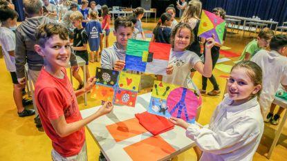 Leerlingen maken kunstwerk ter nagedachtenis van WOI